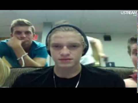 Cody Simpson, Alli Simpson, Josh Winnington  + The Crew Twitcam August 14 of 2012