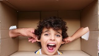 kids play a funny game with their dad- les boys tv