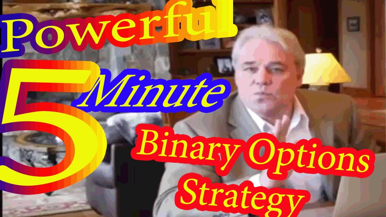 Binary Options Trading Strategy Targeting 5 Minutes Expiry