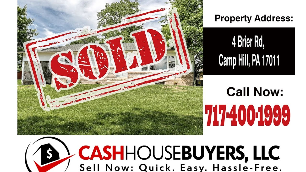TESTIMONIAL We Buy Houses Camp Hill PA   CALL 717 400 1999   Sell Your House Fast Camp Hill PA