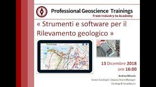 Webinar: Bussole digitali e software per il rilevamento geologico. Smartphone e Tablet