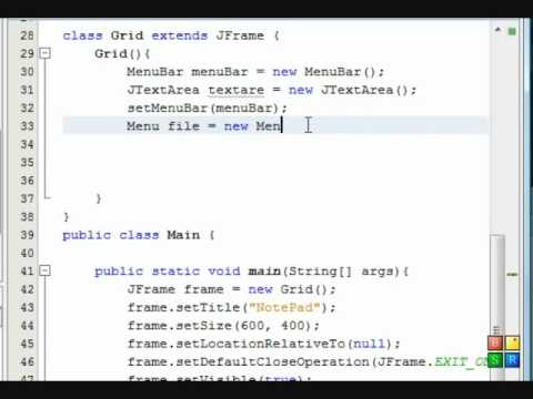 How to write apps using java