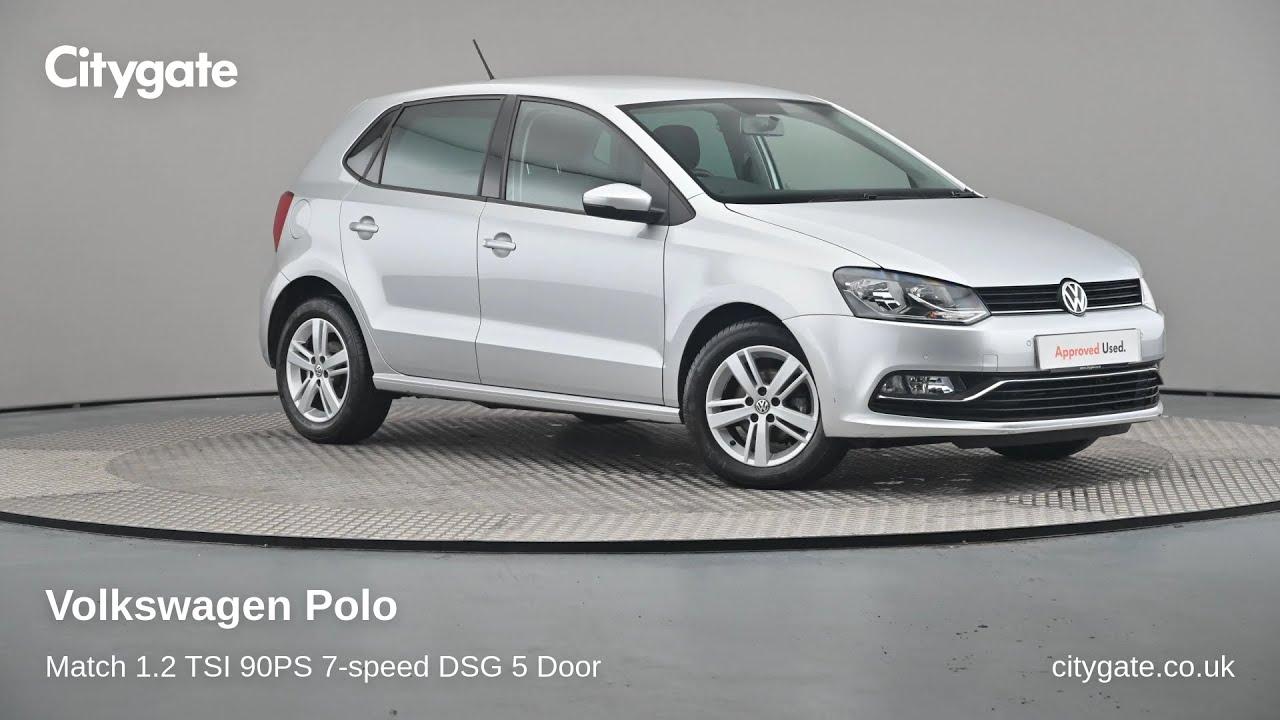 Volkswagen Polo - Match 1.2 TSI 90PS 7-speed DSG 5 Door - Citygate Volkswagen Watford - YouTube