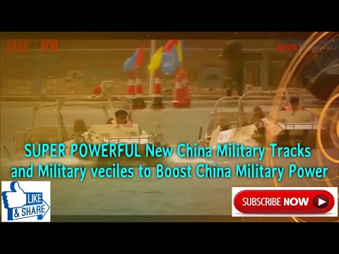 SUPER POWERFUL New China Military Tracks and Military veciles to Boost China Military Power!😃