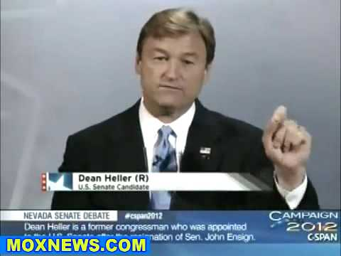 SHELLEY BERKLEY vs DEAN HELLER Nevada Senate Debate