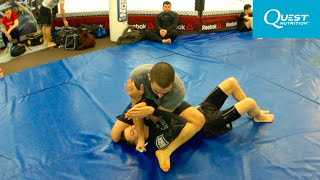 BJJ Advanced Basics - Armbar from the Mount - Firas Zahabi
