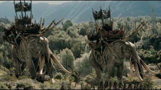 ✄ Властелин колец: Две крепости 2002 (Сэм и Фродо увидели олифантов)