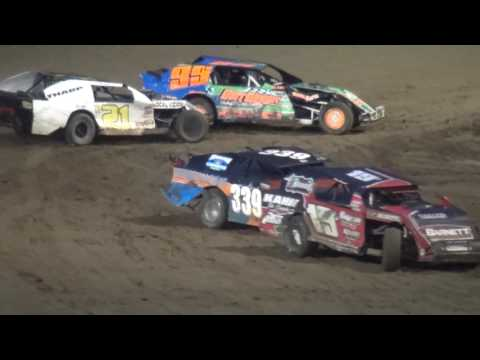 IMCA Sport Mod feature Independence Motor Speedway 7/6/16