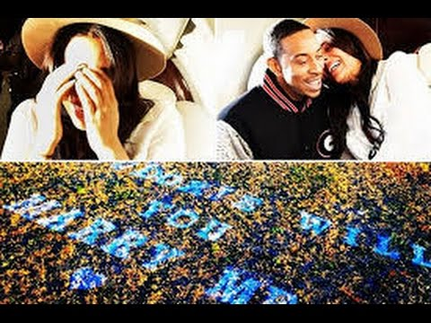 News : Ludacris Engaged to Girlfriend Eudoxie See Pics of the Romantic Proposal