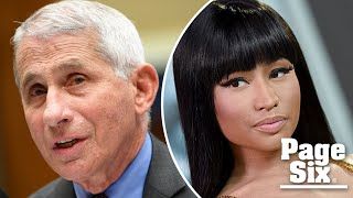 Going viral: Fauci slams Nicki Minaj for false COVID-19 vaccine tweet   Page Six Celebrity News