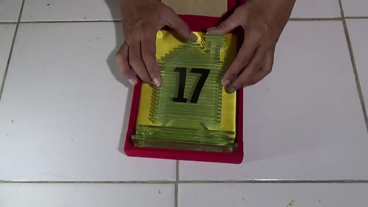 Cara Membuat Kotak Kayu Bludru Untuk Kerajinan Kaca Datar ...
