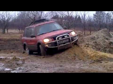 TOYOTA RAV 4 off road 2012 :) odc.1 - YouTube