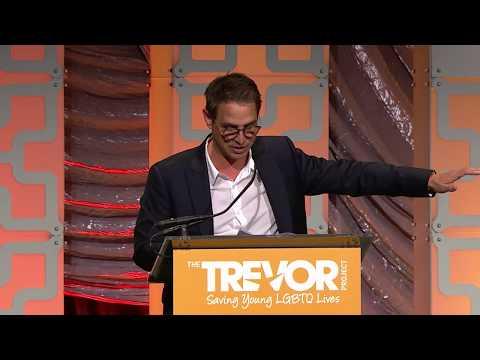 Greg Berlanti's Moving Award Acceptance Speech at TrevorLIVE NY 2018