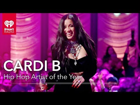 Brittany Gonzalez - Watch:  Cardi B LICKS Her Award After Winning Hip Hop Artist Of The Year