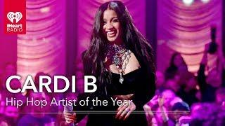 Cardi B Acceptance Speech - Hip Hop Artist of the Year | 2019 iHeartRadio Music Awards