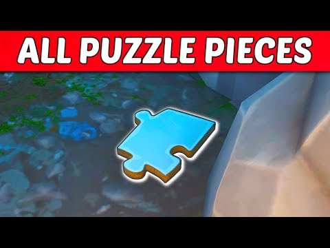 Fortnite - All Jigsaw Puzzle Piece Locations Guide (Season 8 Challenge)