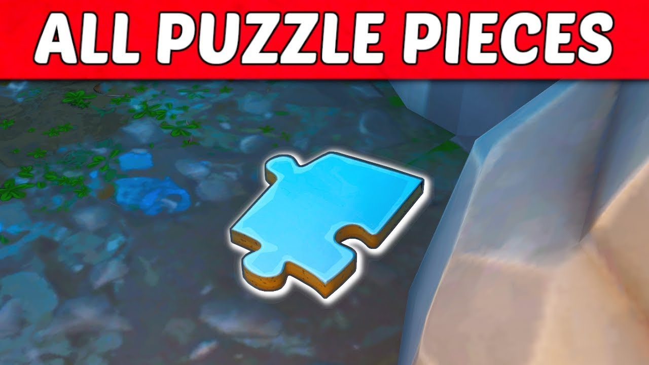 fortnite all jigsaw puzzle piece locations guide season 8 challenge - where are all the jigsaw puzzles in fortnite season 8