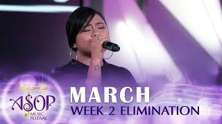 Nini Calingo Sings 'help Me Stay' By Marianne Dizon | Asop 7