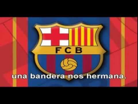 Himno F.C Barcelona en español (Castellano)