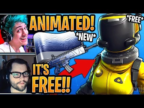 Streamers React to the New *FREE* Hazard Agent Style & New *ANIMATED* Ripple Wrap!