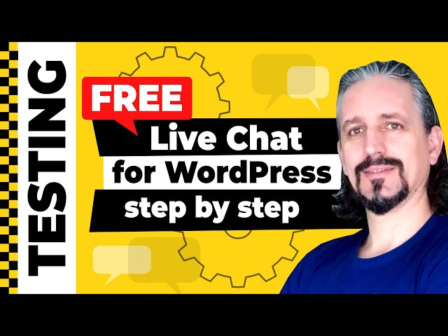 Live Chat for WordPress [FREE] Plugin Tutorial Step By Step
