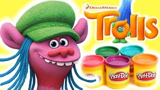 Learn How to Make Cooper From Play-Doh 👹 Trolls Full Movie 👹 Craft Videos For Kids 🎨 Crafty Kids