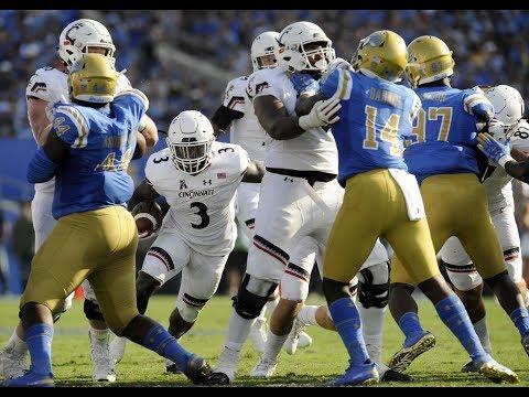2018 American Football Highlights - Cincinnati 26, UCLA 17