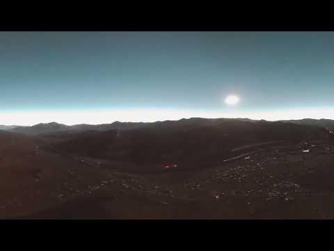 Eclipse de sol Incahuasi 360 VR – Chile 2019 / PRODRONE / INSTA360 ONEX