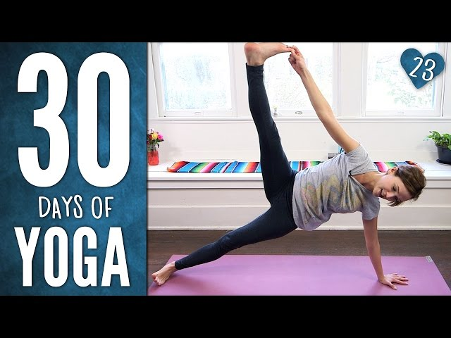 Day 23 - Freedom & Forgiveness - 30 Days of Yoga