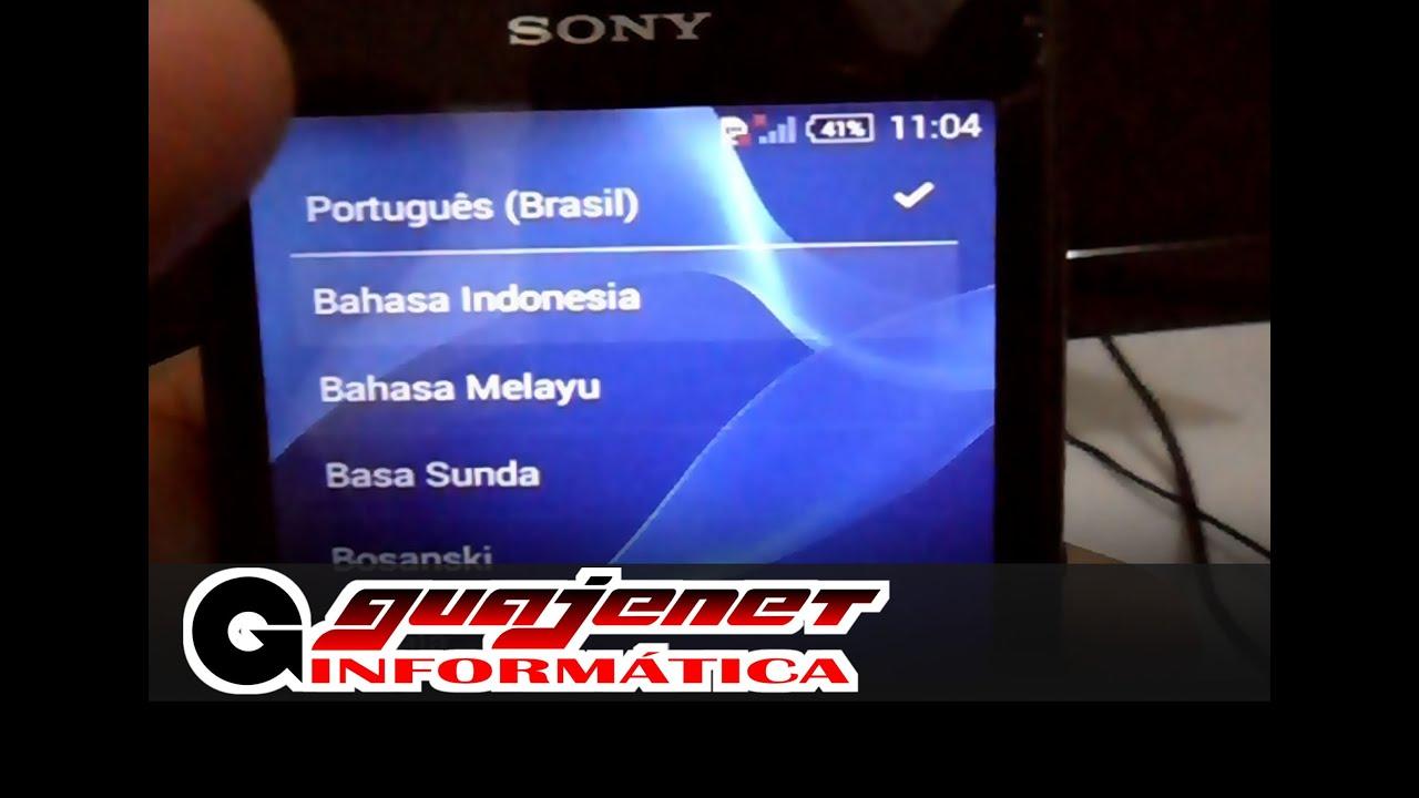 Hard Reset Sony Xperia E1 D2114 Novo panion 2016