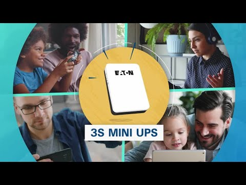 Eaton 3S Mini UPS protecting connected equipment