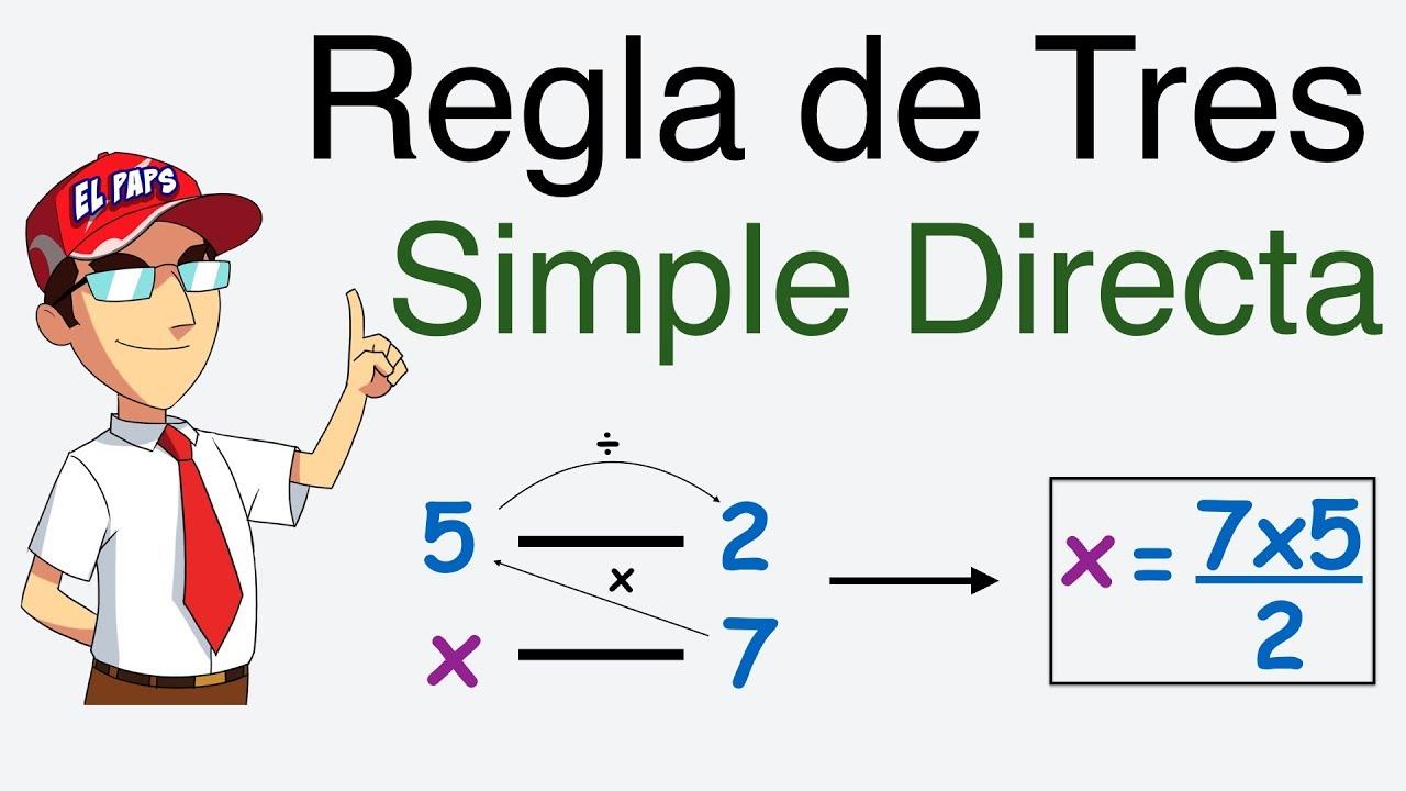 Image result for regla de 3 simple direct