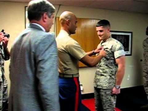 Dan's Promotion to Captain USMC