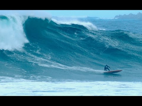 Big Wave Surfing in Central California