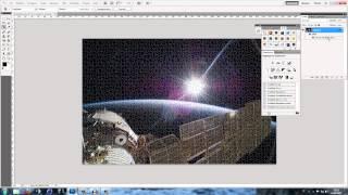 Effetto Puzzle Photoshop Cs5 PHOTOSHOP video tutorial