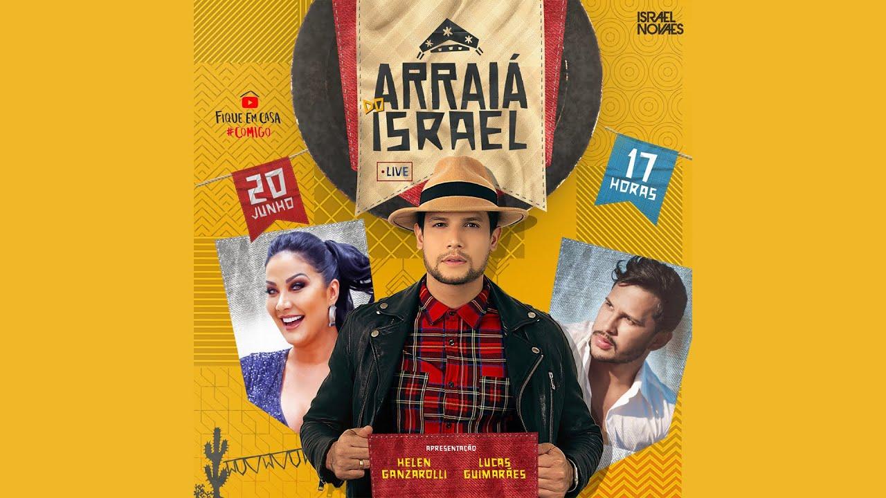 Live - Arraiá do Israel #FiqueEmCasaECanteComigo - (PARTE 1)