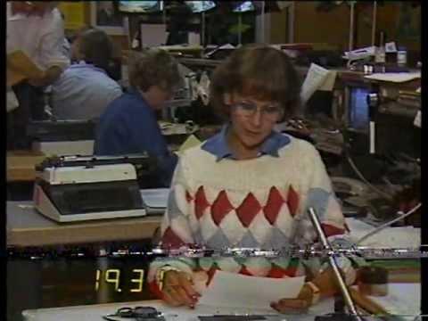 TV2 tunnus, MTV2 tunnus, uutisotsikot, kuulutus ja mainokset 16.7.1985