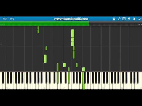 Da Coconut Song - Piano Tutorial
