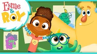 Simon is feeling a little homesick. esme & roy know the perfect thing to do! they help decorate tree with all things loves! abou...