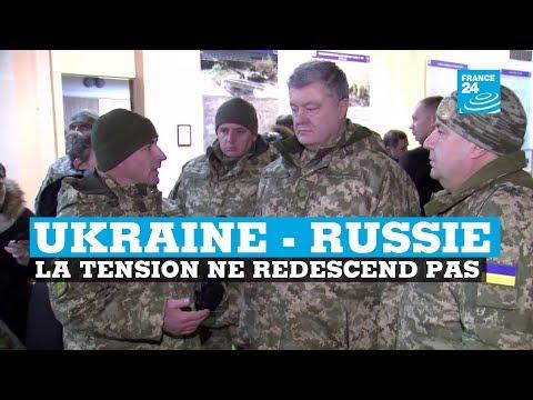 Ukraine-Russie, la tension ne redescend pas