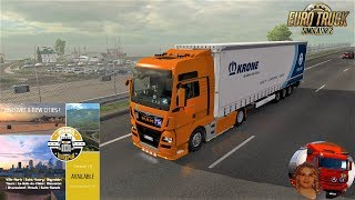 Euro Truck Simulator 2 (1.36)   Grand Utopia map v1.6 MyGodness MAN TGX e6 by SCS Krone Megaliner Trailer by Sogard3 and SCS Software + DLC's & Mods https://forum.scssoft.com/viewtopic.php?f=32&t=256236  Support me please thanks Support me economically at