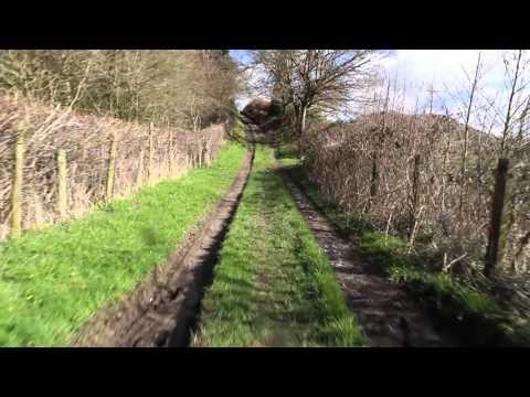 Green Lanes in a Dacia Duster - Watling Street North, Church Stretton, Shropshire