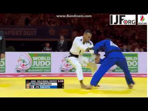 World Judo Championship 2017, Gold Medal fight -60kg, SAFARO