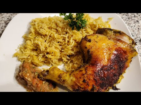 Authentic Chicken Mandi (Arabic Rice) With Tomato Chutney | Mediterranean Food | How Yummy!