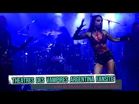 Theatres Des Vampires Live at Museo Rock - Buenos Aires, Argentina 8/10/2017