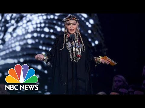 Madonna Criticized For Her Tribute To Aretha Franklin At MTV's VMA | NBC News