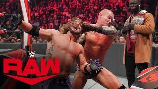 Randy Orton vs. AJ Styles: Raw, Aug. 9, 2021