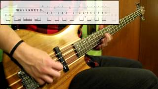 Spacehog - In The Meantime (Bass Cover) (Play Along Tabs In Video)