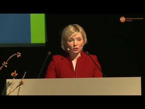 Opening speech   Lilja Alfreðsdóttir, Minister of Foreign Affairs Iceland