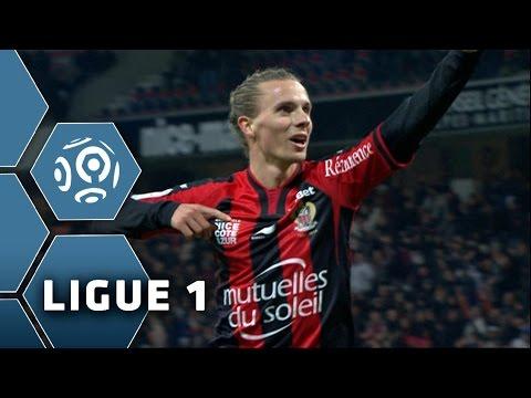 But Niklas HULT (73') / OGC Nice - Olympique de Marseille (2-1) -  (OGCN - OM) / 2014-15